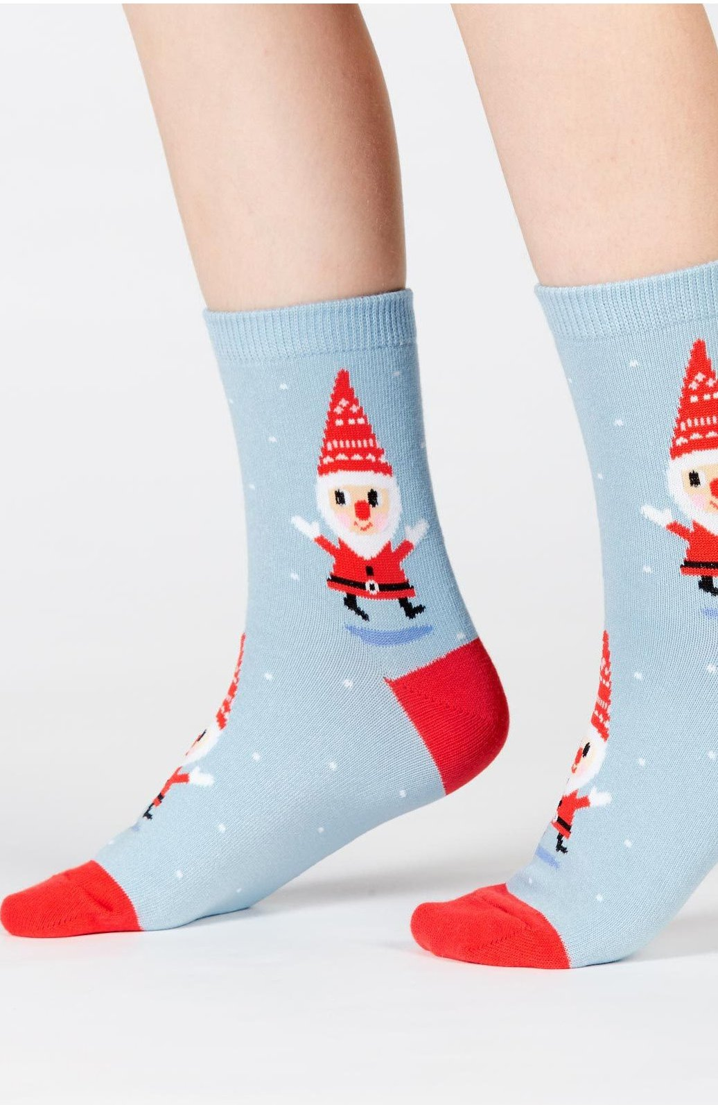Santa Gnome Junior Crew Socks