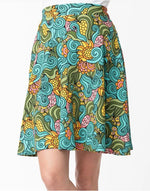 Groovy Floral Sweet Talk Skirt by Smak Parlour