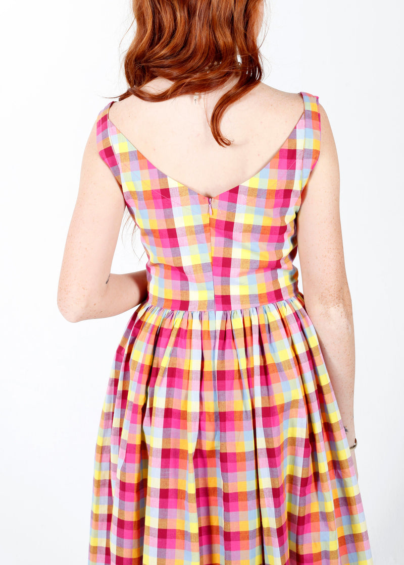 Ivy Dress in Mad About You Plaid by Saint Geraldine