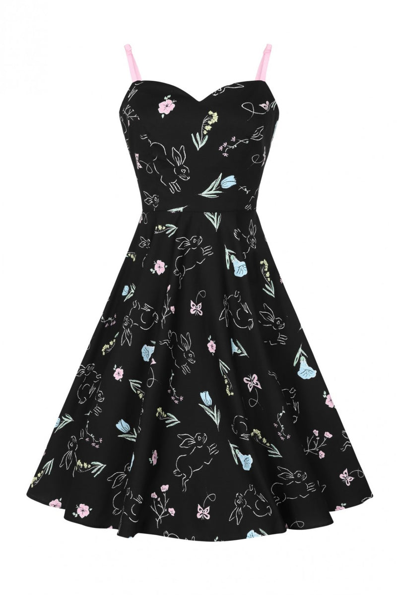 Binky Bunny 50's Dress by Hell Bunny