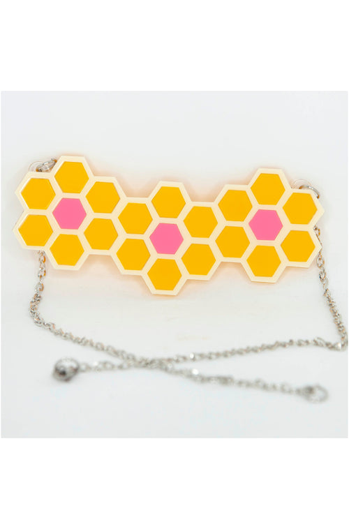 Honeycomb Necklace by Daisy Jean