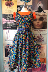 Pencils Dress by Retrolicious