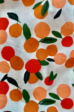 Mini Summer Oranges Scarlett Dress by Emily and Fin