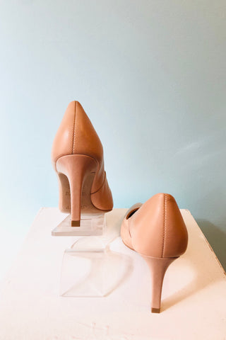 Kate Pointed Toe Heel in Nude by Chelsea Crew