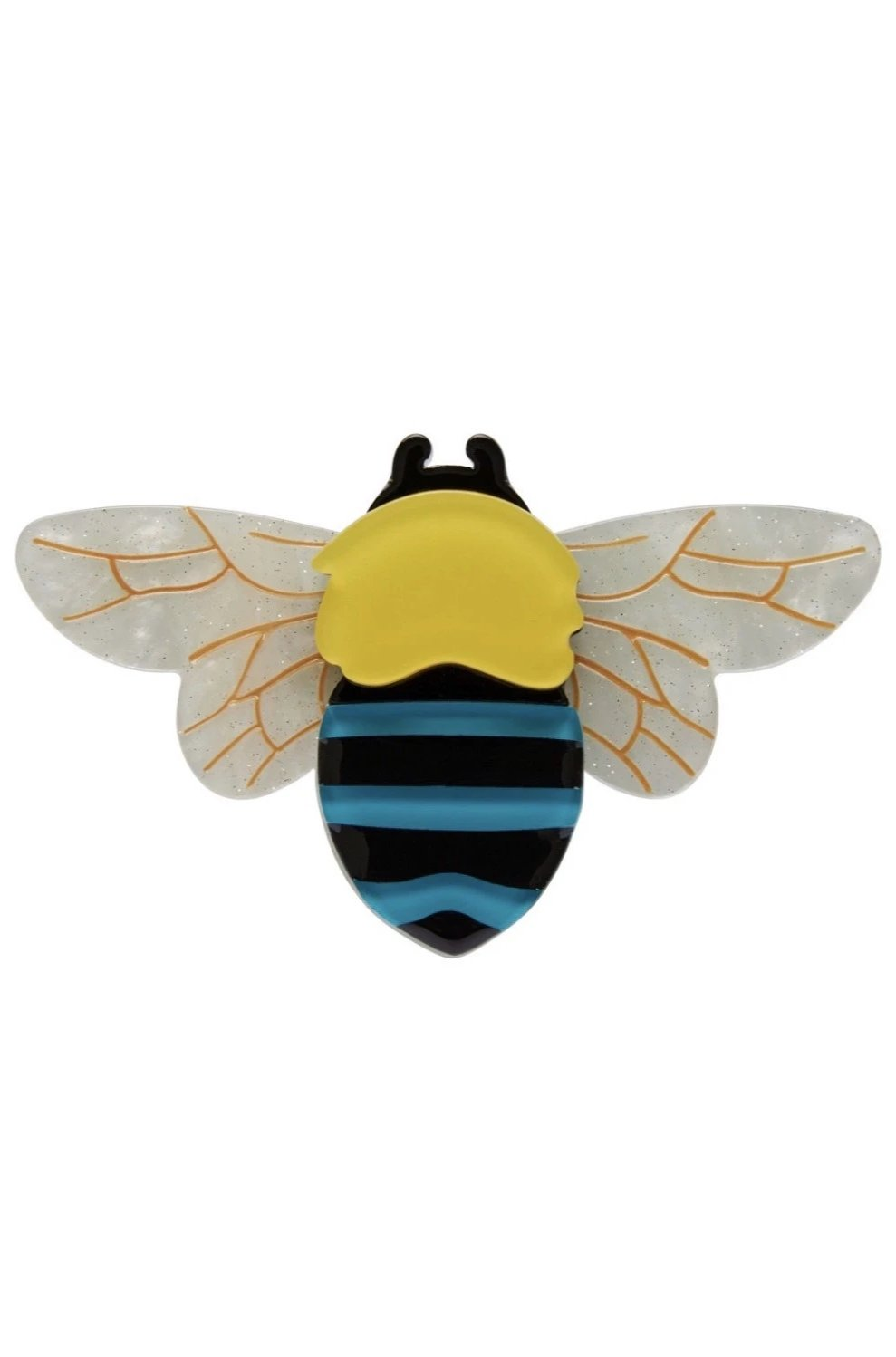 To Bee or Not to Bee Brooch by Erstwilder
