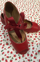 Sonia Heel in Red by Chelsea Crew