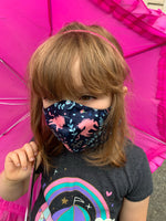Kid's Cloth Face Mask in Multiple Prints!