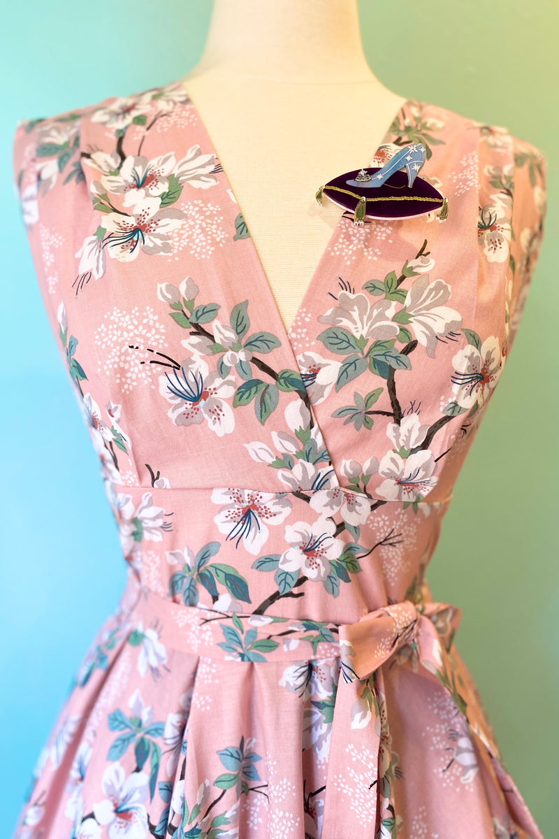 Milan Dress in Janelle Pink Floral by Heart of Haute