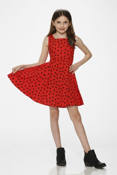 Hearts & Roses Georgia Girls Dress