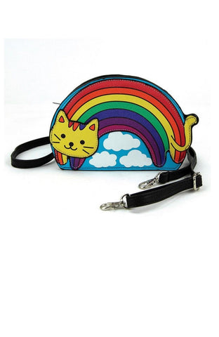 Rainbow Cat Crossbody Bag