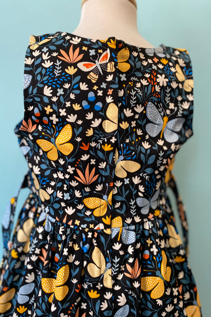 Kids Butterfly Floral Dress by Eva Rose