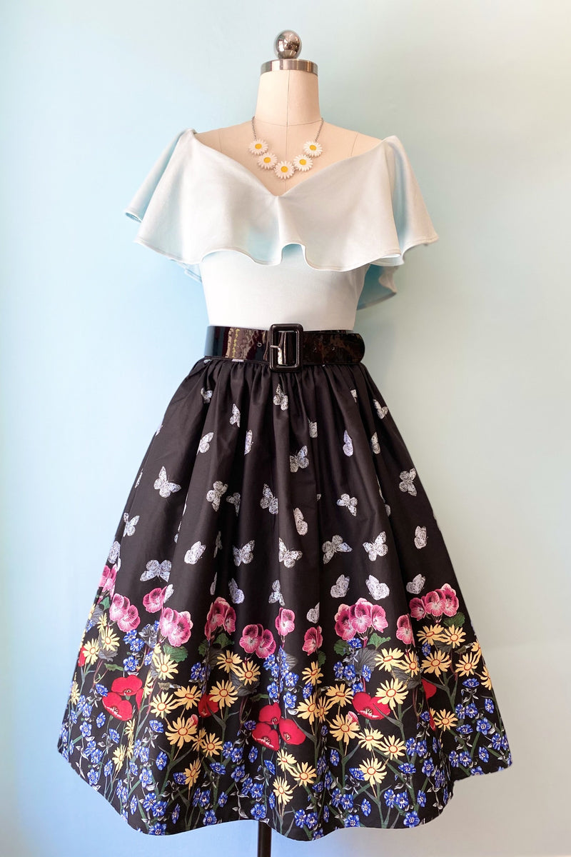 Meadow Skirt by Hell Bunny