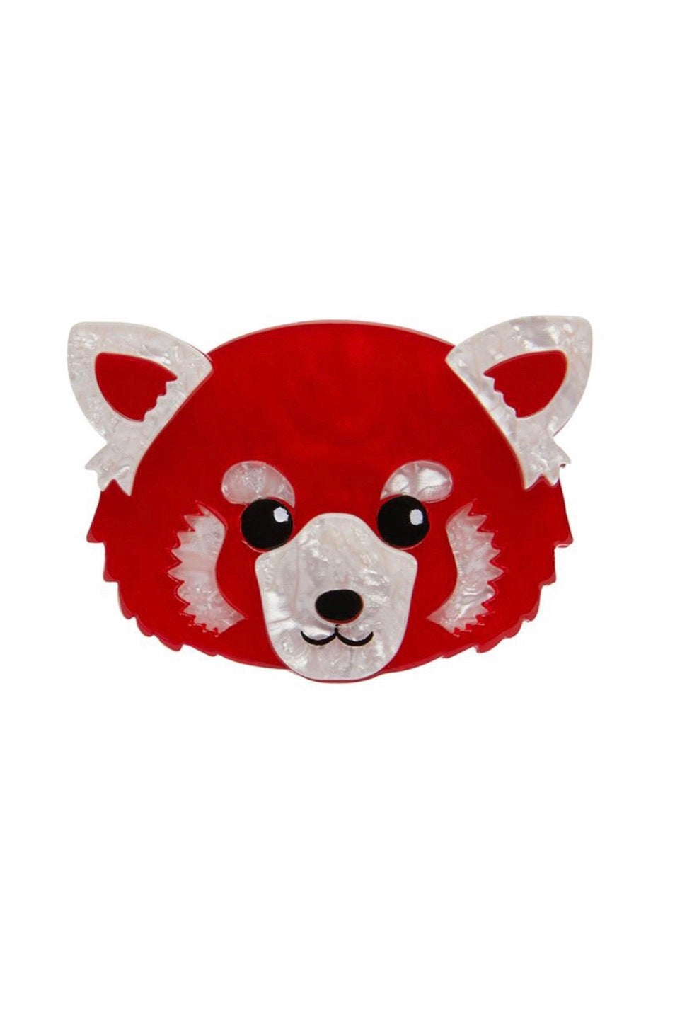 Lesser Rusty Red Panda Brooch by Erstwilder