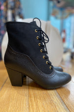 Haku Black Booties by B.A.I.T.
