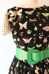 Butterflies and Bugs Dress by Retrolicious