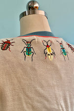 Embroidered Bugs Vera Cardigan by Palava