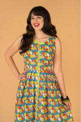 Samantha Dress in Floral by Tailor & Twirl