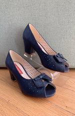 Romance Heel in Navy by B.A.I.T.