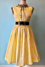 Candice Striped Swing Dress by Collectif