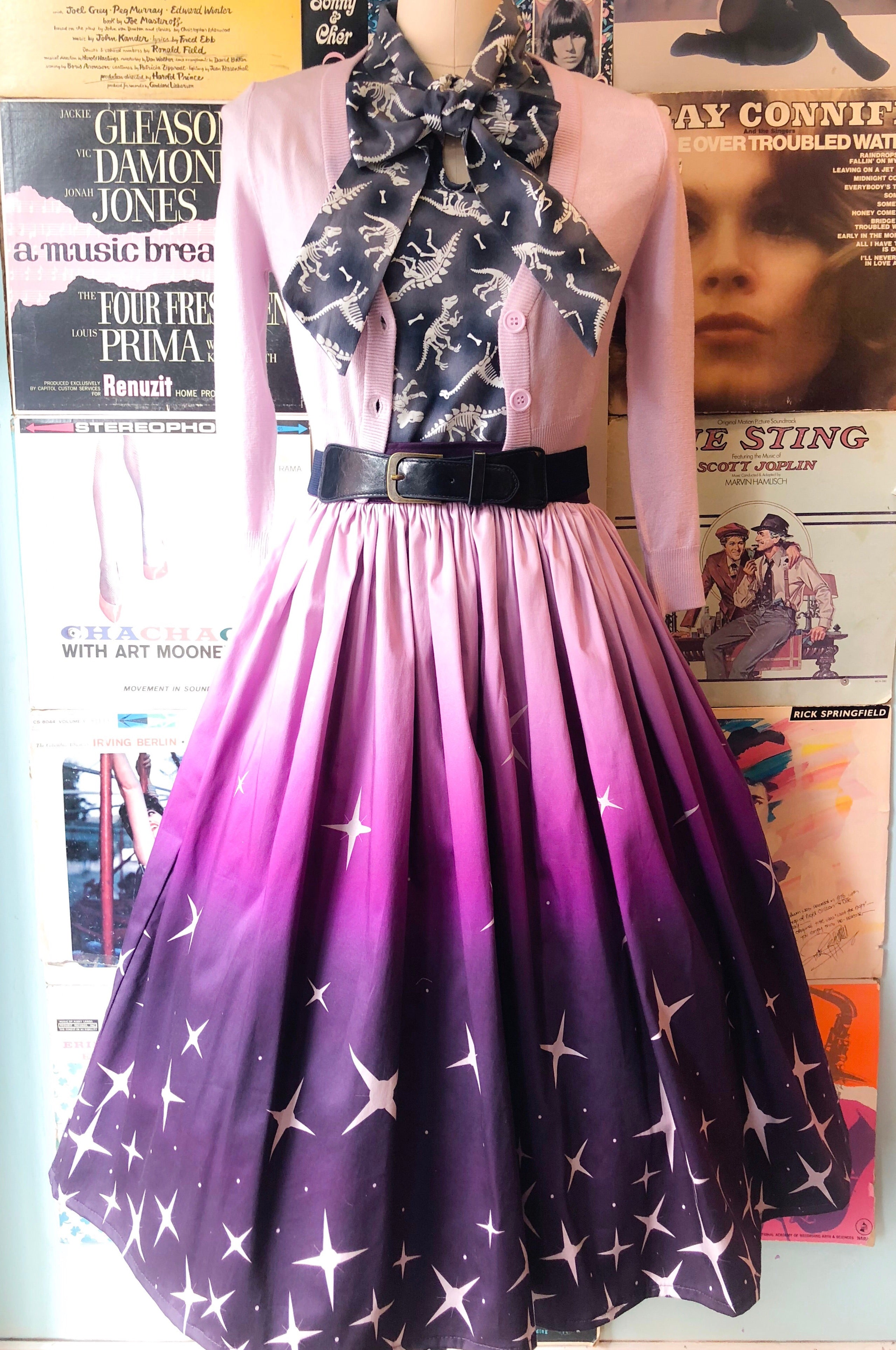 Mulberry Twilight Trixie Skirt by Ains & Elke