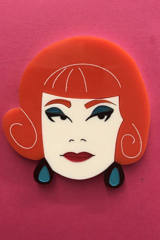 Endora Bewitched Brooch by Daisy Jean Florals