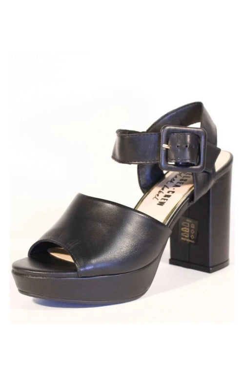 Rose Heel in Black by Chelsea Crew