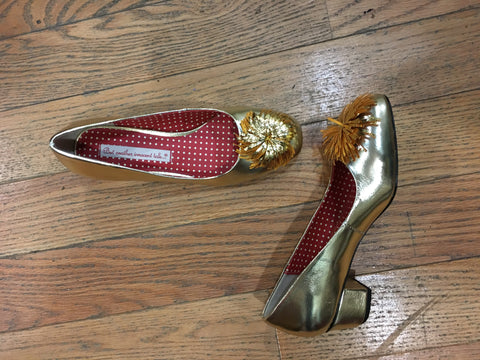 Fran Heel in Gold by B.A.I.T.
