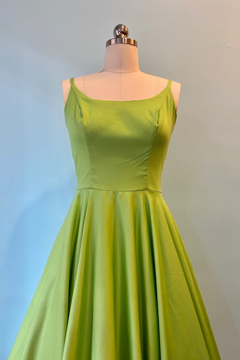 Peggy Circle Dress in Peridot by Tatyana