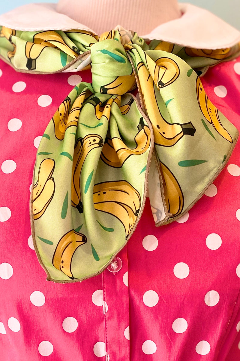 Mint Banana Scarf