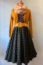 Green Plaid Sophie Skirt by Timeless London