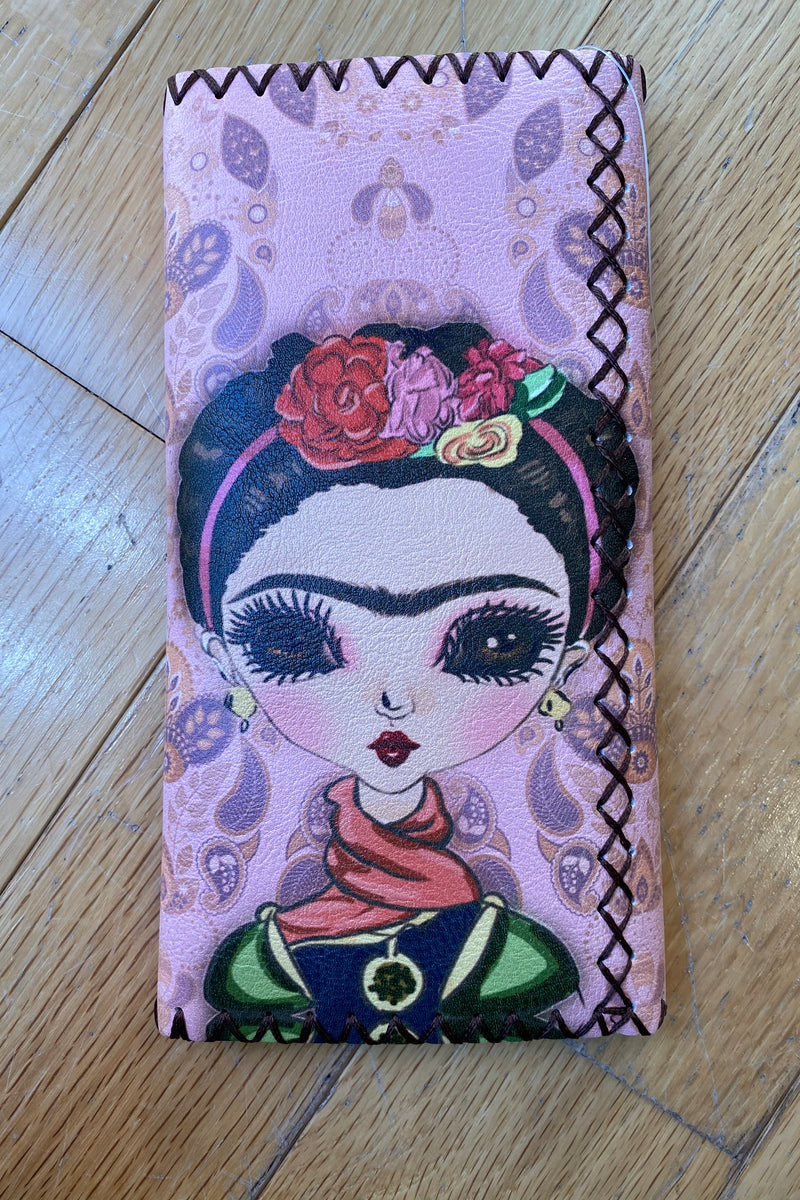 Frida Pink Flap Wallet
