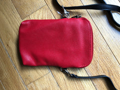 Red Kitty Small Crossbody Pouch