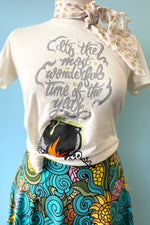 The Most Wonderful Time Of The Year Fitted T-Shirt Top by Unique Vintage