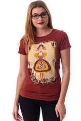German Girl T-Shirt Top by Blue Platypus