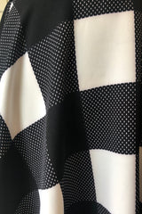 Black and White Check Rachel Dress by Unique Vintage