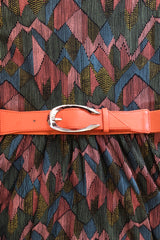 Cinch Belt with Oval Buckle in Multiple Colors
