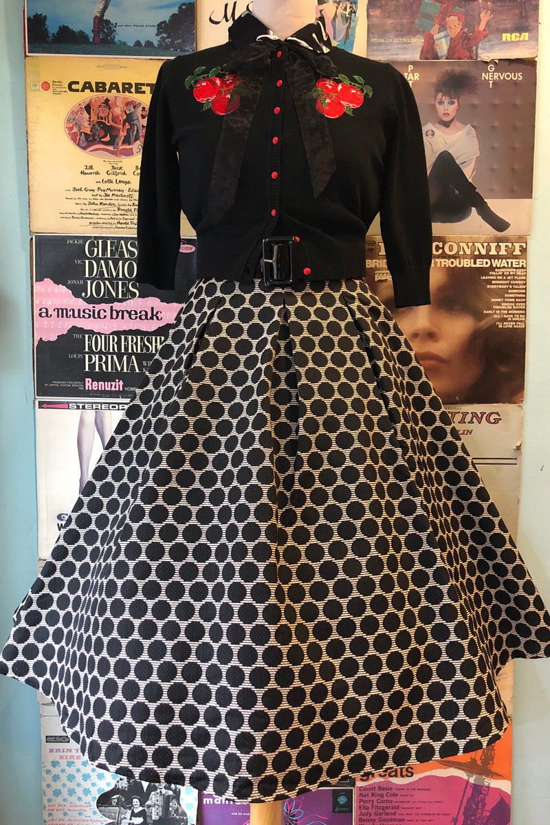 Tabitha Dotted 50's Skirt by Tatyana