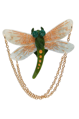 As The Dragon Flies Brooch by Erstwilder