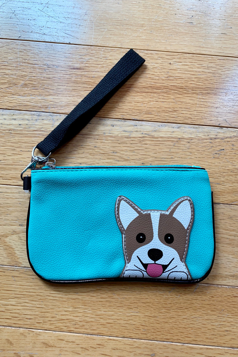 Peeking Corgi Wristlet by Sleepyville Critters