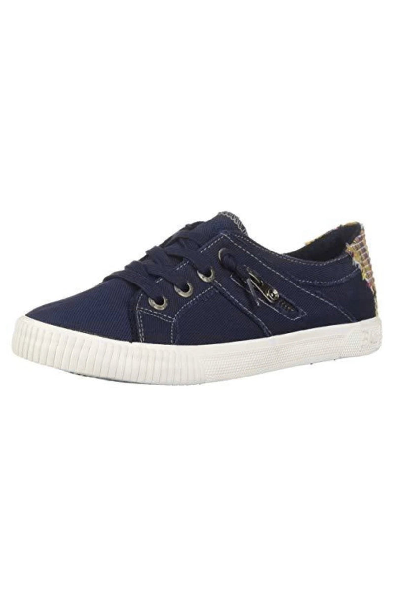 Navy Canvas Sneakers by Blowfish