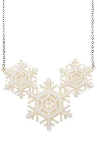 Winter Wonderland Necklace by Erstwilder