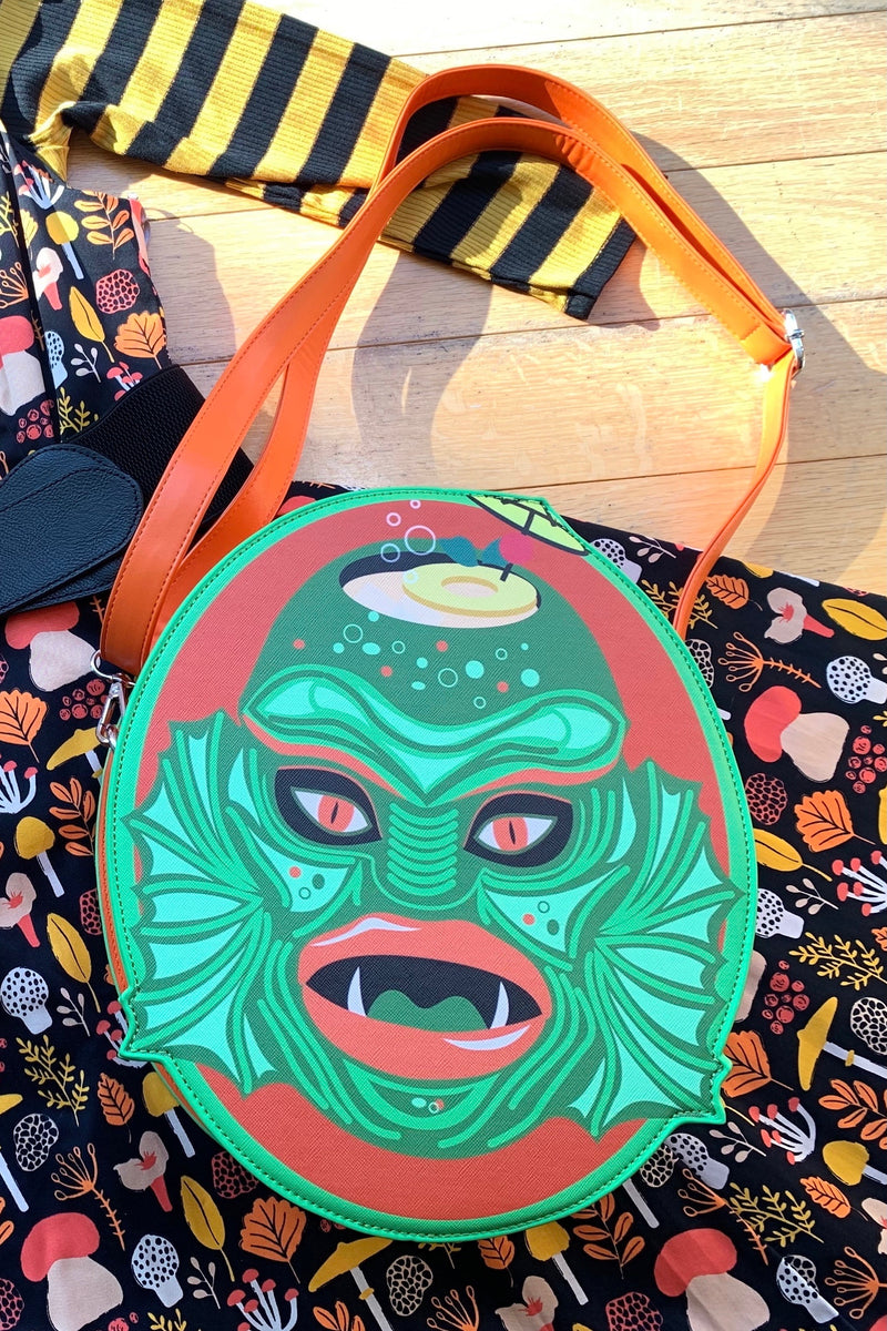 Swamp Creature Tiki Mug Bag by The Oblong Box Shop