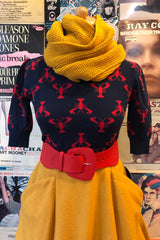 Chrissie Lobster Sweater by Collectif