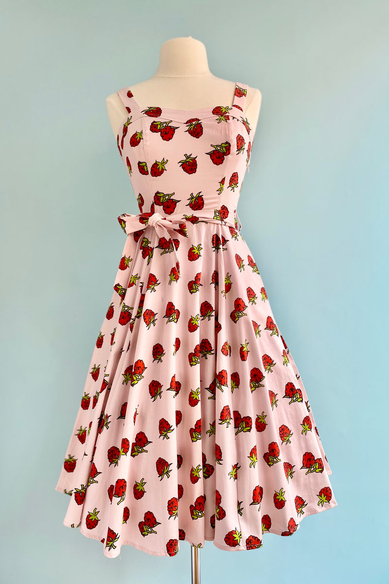 Raspberry Lori Dress by Miss Lulo