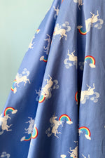 Unicorn Jumping Over the Rainbow Tie-Back Dress by Ixia