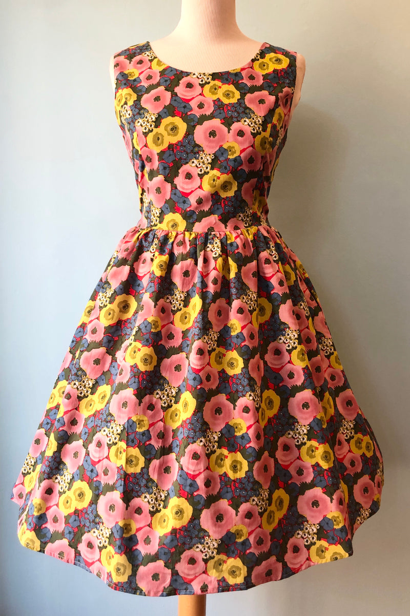 Pink Rose Floral Dress by Tulip B.