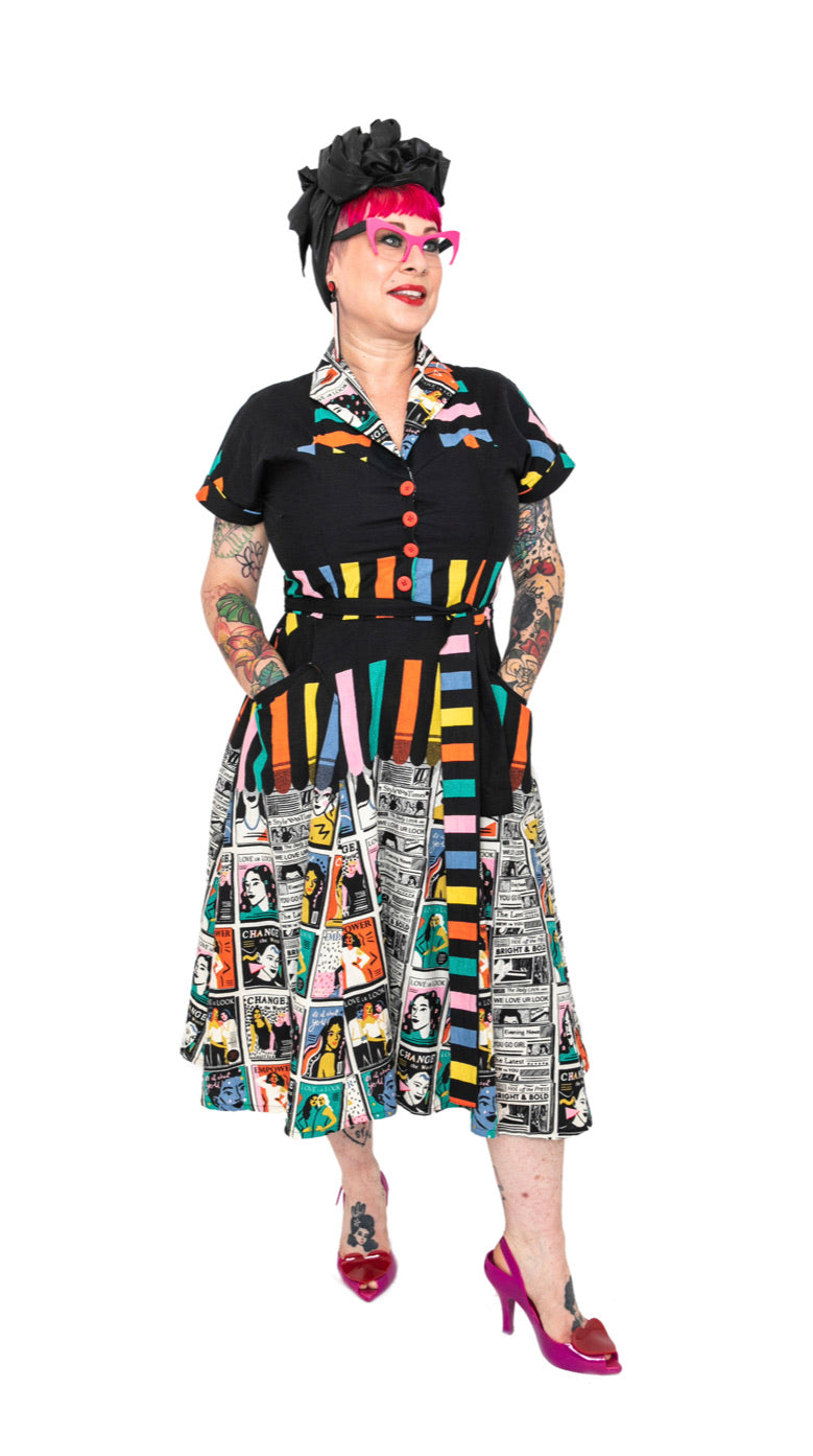 Empower You Shirt Dress by Love Ur Look London