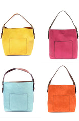 Hobo Bag with Handle in Multiple Colors