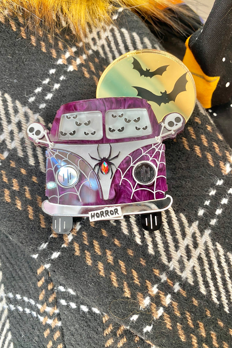 Horror Mobile Brooch by Poly Paige