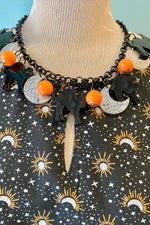 Lola Scaredy Cat Necklace by Collectif